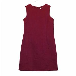 NWT Alfred sung red sleeveless dress